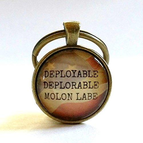 La deplorables | llavero | Militar | veterano | collar ...