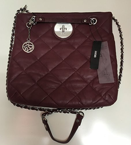Dkny Leather Quilted Bag - 5