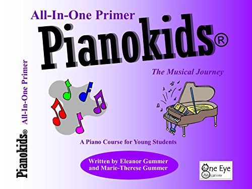 Pianokids® All-In-One Primer Book: The Musical Journey