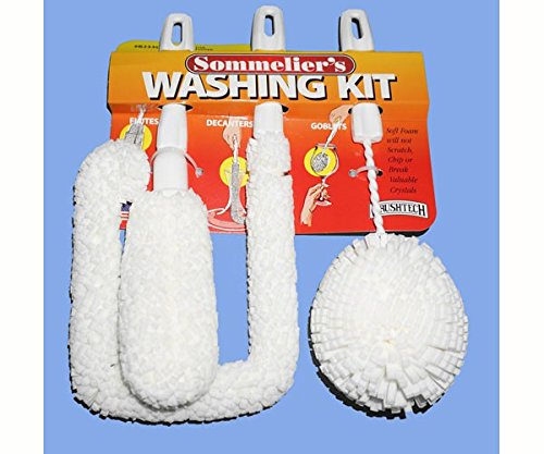 Brushtech 2 Pack Sommelier's Washing Kit by Brushtech