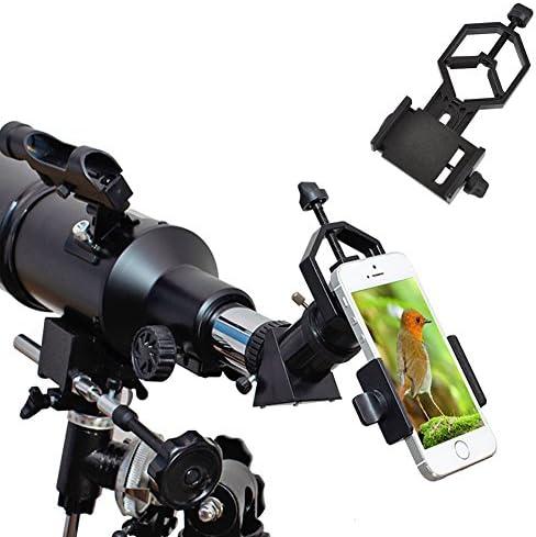 Ueasy Montura soporte universal para adaptador de smartphone compatible con prismáticos, monoculares, telescopios y microscopios.: Amazon.es: Electrónica