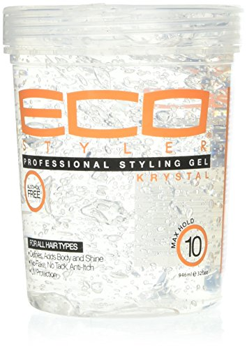 Eco Styler Krystal Styling Gel 32 oz (Best Eco Styler Gel For 4a Hair)