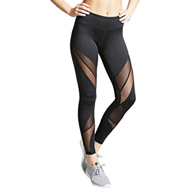 61eee35ac464 Women s Compression Fitness Leggings High Waist Pants for Yoga Running Gym  Workout Outdoor Printed Sports Leggings
