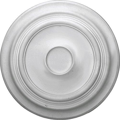 (Ekena Millwork CM24TR Ceiling Medalion Factory Primed White)