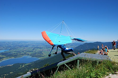 Home Comforts Framed Art for Your Wall Germany Hang Glider Füssen Bavaria Flying Space 10x13 Frame