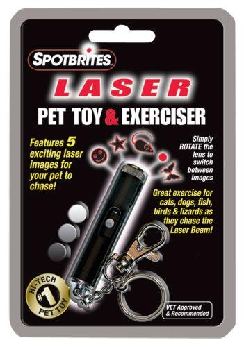 Spotbrites Laser Pet Toy and Exerciser, My Pet Supplies