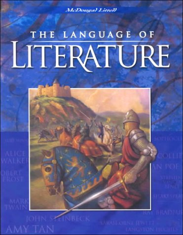 McDougal Littell Language of Literature: Student Edition Grade 10 2000 by MCDOUGAL LITTEL