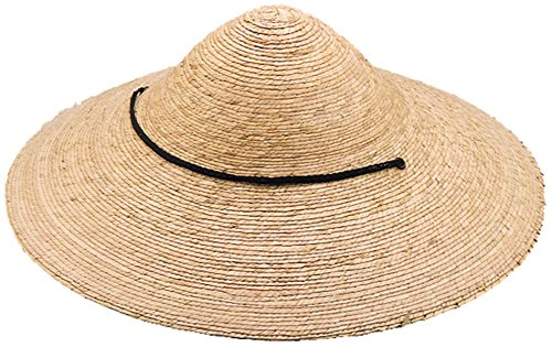 Hat Straw Rice (Jacobson Hat Company Men's Straw Braid Coolie, Natural, Adult)
