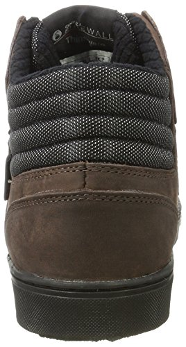 Baskets Heat black Braun O'Neill Hautes Raybay Brown Leather Homme ZtnWfwUfOq