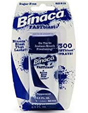 Binaca Fast Blast Breath Spray - Peppermint