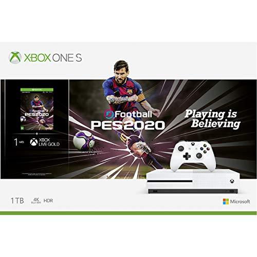 Console Xbox One S 1TB + Pro Evolution Soccer 2020 - Xbox One