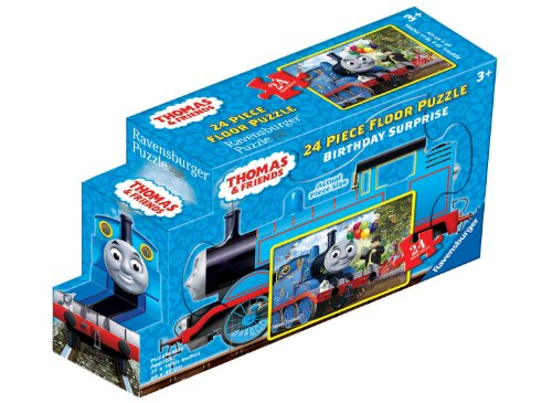 (Ravensburger Thomas & Friends Birthday Surprise 24 Piece Jigsaw Puzzle for Kids – Every Piece is Unique, Pieces Fit Together Perfectly)