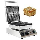VBENLEM 110V Commercial Waffle Maker 4Pcs Nonstick