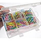 IMPRINT's 200 Pieces Colored Paper Clips, 28mm Assorted Colors