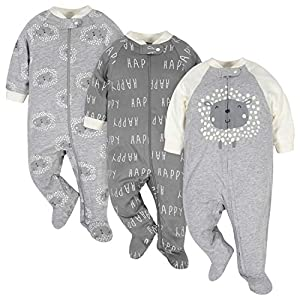 Best Epic Trends 51QRNiiPNOL._SS300_ Gerber unisex-baby 3-pack Organic Sleep 'N Play