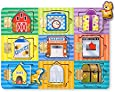 Melissa Amp Doug Hide And Seek Wooden Activity Board With