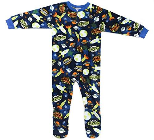 Price comparison product image Prince of Sleep 95598-4-5/6 Footed Pajamas/Micro Fleece Blanket Sleepers