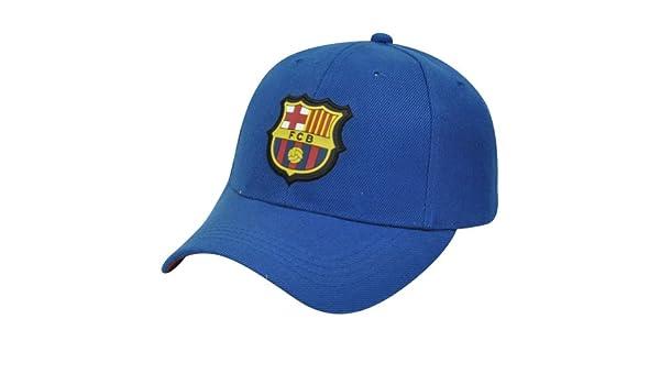 FC Barcelona chewybuy Barca España fútbol Liga bbva Velcro sienres sombrero Gorra visera curvada: Amazon.es: Deportes y aire libre