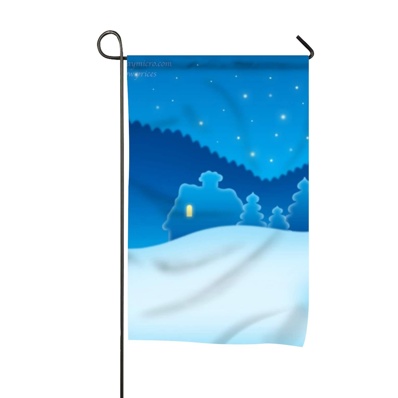 f53d8f246dee Amazon.com : Otkftk Double Sided Premium Garden Flag Christmas Santa ...