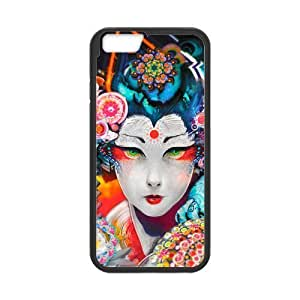 """Classic Style Custom Silicone Hard Rubber Protector Case for iPhone6 Plus 5.5"""" - Crazy Trippy"""