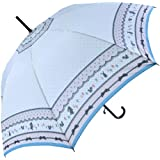 【無償修理対象】 うさぎ りす 動物 かわいい 60cm ジャンプ傘 (生成り)