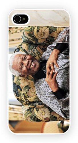 Nelson Mandela Older, iPhone 5C, Etui de téléphone mobile - encre brillant impression