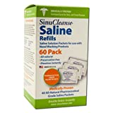 SinuCleanse All-Natural Saline Refill