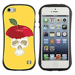 High quality Case for Apple iPhone 5 5S / Apple Skull