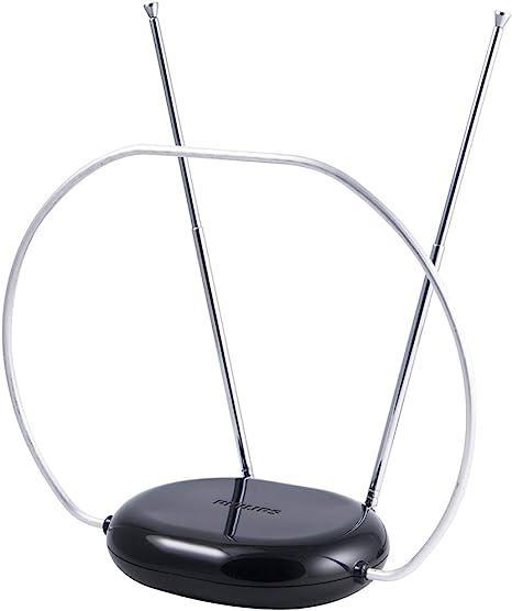 Philips SDV8201B/27 - Antena (Interior, Negro, 1,8 m, 88 mm ...