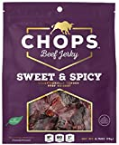 Chops Beef Jerky Chops Sweet and Spicy Beef Jerky, 5 Piece