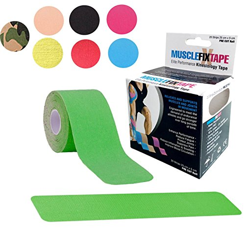 Green MUSCLE FIX Kinesiology Recovery Sp - Star Fatigue Cap Shopping Results