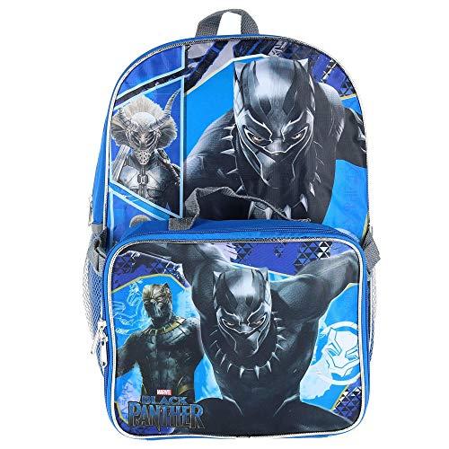 Marvel Avengers Black Panther Backpack & Lunch Bag Set…