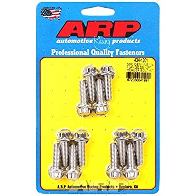 ARP 434-1201 Stainless Steel Header Bolt Kit: Automotive