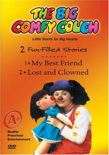 Big Comfy Couch: My Best Friend & Lost & Clowned [VHS]