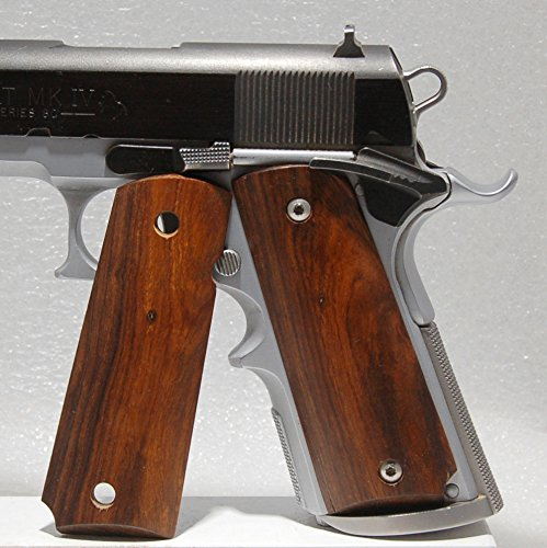 1911 Grips, Full Size, Wood, Desert Ironwood (5)