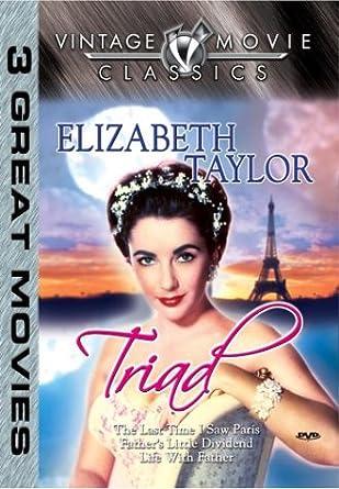 Amazon com: Elizabeth Taylor: Triad: Elizabeth Taylor: Movies & TV