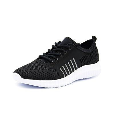 Amazon.com   Idea Frames Men\'s Knit Sport Running Shoes Lightweight ...