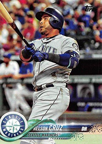 2018 Topps #220 Nelson Cruz Seattle Mariners Baseball Card