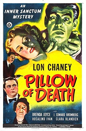 Pillow of Obliteration Poster Movie B 27 x 40 Inches - 69cm x 102cm Lon Chaney Jr. Brenda Joyce J. Edward Bromberg Rosalind Ivan Clara Blandick George Cleveland Wilton Graff