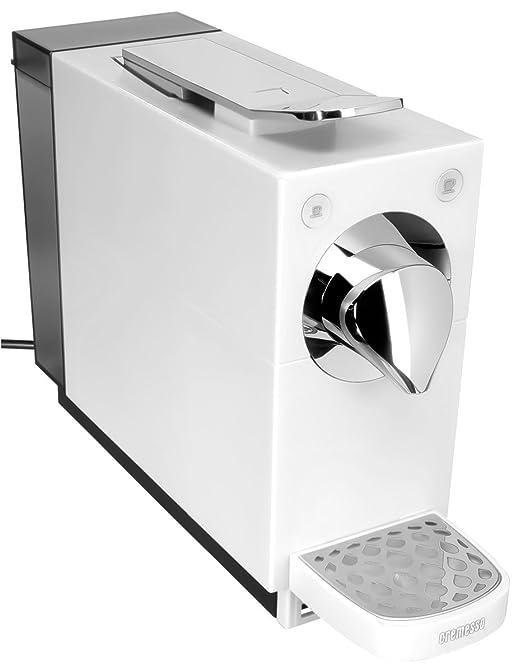Cápsulas Cremesso Cremesso Una blanco puro automática Cafetera Blancas