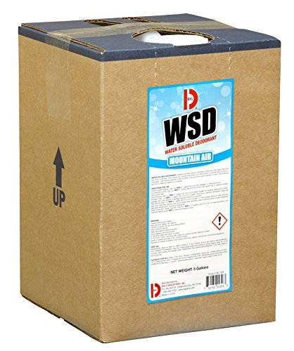 Big D 5358 Water Soluble Deodorant, Mountain Air Fragrance, 5 Gallon Pail - Add to any cleaning solution - Ideal for use in hotels, food service, health care, schools and institutions
