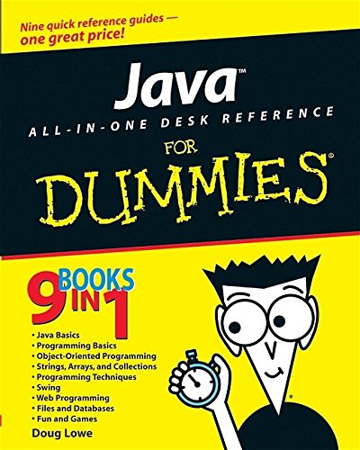 Java All-In-One Desk Reference For Dummies by Brand: For Dummies