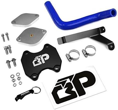 Black BlackPath Cooler Delete Kit Dodge Cummins Turbo Diesel T6 Billet Ram EGR Valve