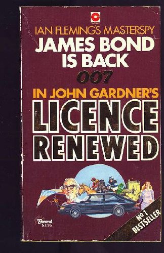 License Renewed by John Gardner