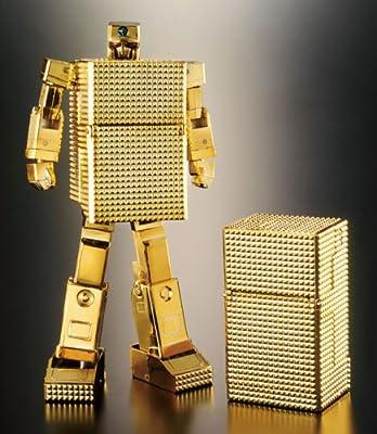 BANDAI SOUL OF CHOGOKIN GX-32R GOLD LIGHTAN 24K GOLD PLATED FINISH