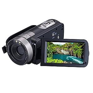 """KINGEAR PL002 2.7"""" LCD Screen Digital Video Camcorder Night Vision 24MP Camera HD Digital Camera"""