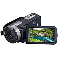 KINGEAR PL002 2.7 LCD Screen Digital Video Camcorder Night Vision 24MP Camera HD Digital Camera