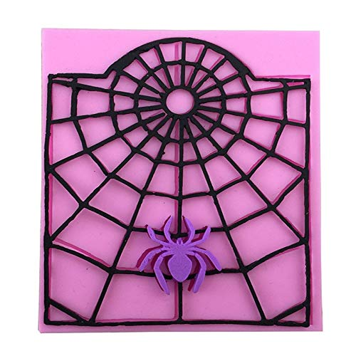 Cake Molds - 1pcs Spiders Spin Webs Shape