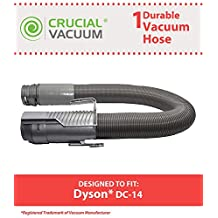 Crucial Vacuum Dyson DC14 Replacement Grey Hose for, Replaces Part #908474-1, 908474-37, Designed and Engineered