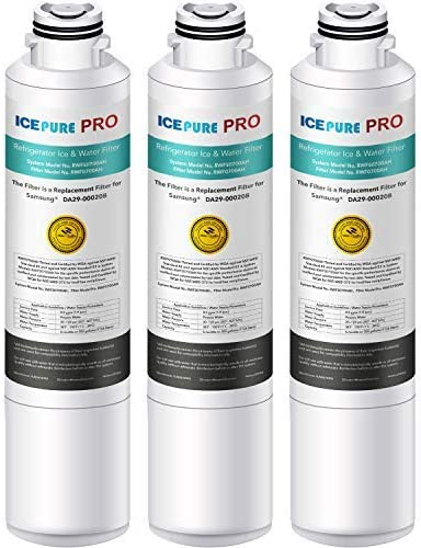 IcePure RFC0700A Compatible Water Filter for Samsung DA29-00020B Pack of 4